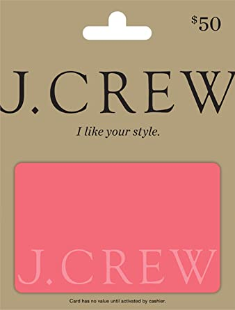 2259516330528 Amazon.com: J.Crew Gift Card $50: Gift Cards