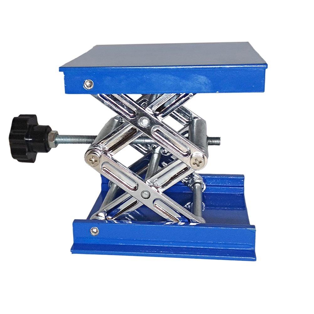 Manual Lab Jack Elevator Optical Sliding Lifting Platform Stage Manual Vertical Translation Stage (4x4'')