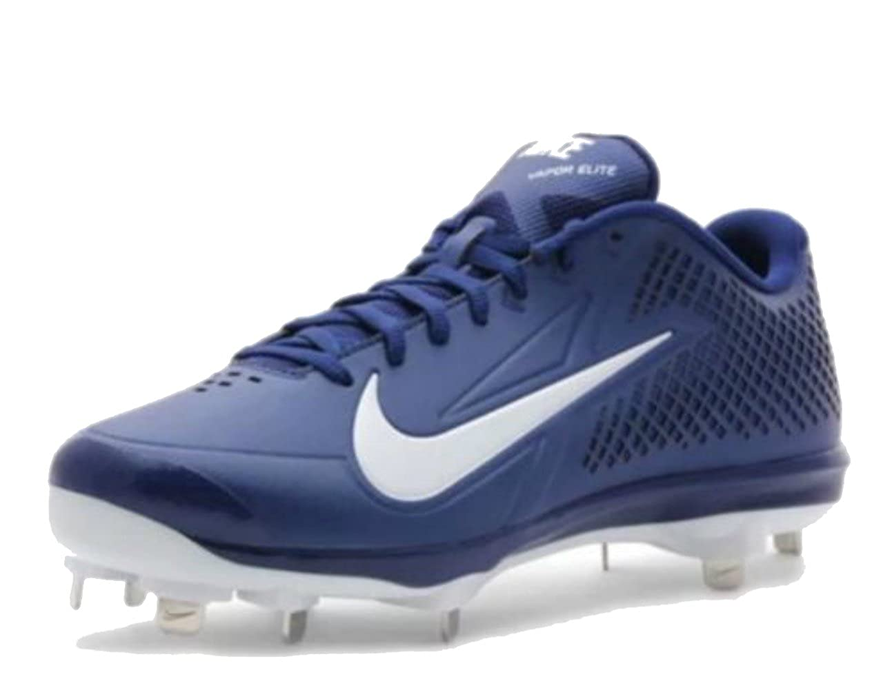 Amazon.com | NIKE Men\u0027s Zoom Vapor Elite Metal Baseball Cleats, Black/White  | Fashion Sneakers