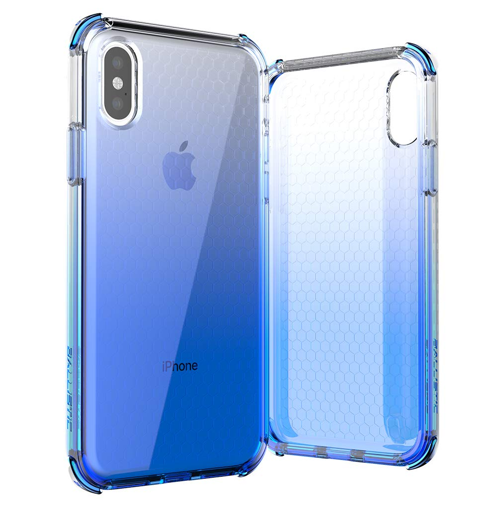 brand new db696 62174 BALLISTIC Jewel Spark Series for iPhone Xs - Blue