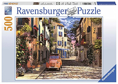 Ravensburger In the Heart of Southern France 500 Piece Jigsaw Puzzle for Adults – Every Piece is Unique, Softclick Technology Means Pieces Fit Together Perfectly