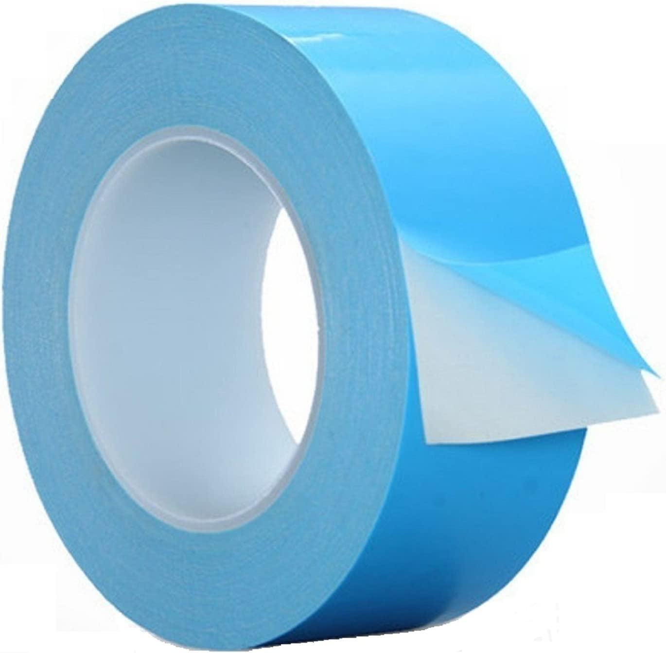 Thermal Double Sided Adhesive Tape 40mm by 25M, HPFIX High Performance Thermally Conductive Tape Apply for Coolers, Heat Sink, LED Strips, Computer CPU, GPU, Easy to Apply & High Durability