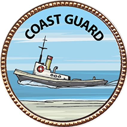 Amazon com: Coast Guard Award, 1 inch dia Gold Pin