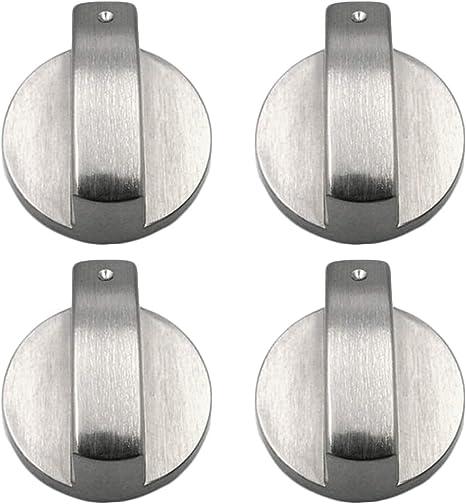 Metal 6mm Universal Silver Gas Adaptadores de Perillas de ...