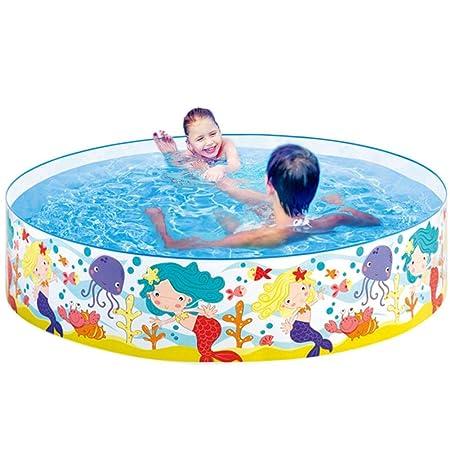 LUCYPAPASHOW - Piscina Hinchable para niños, para Nadar, para ...