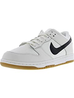 new concept f642a 182c0 Nike Dunk Low Canvas, Nero Bianco