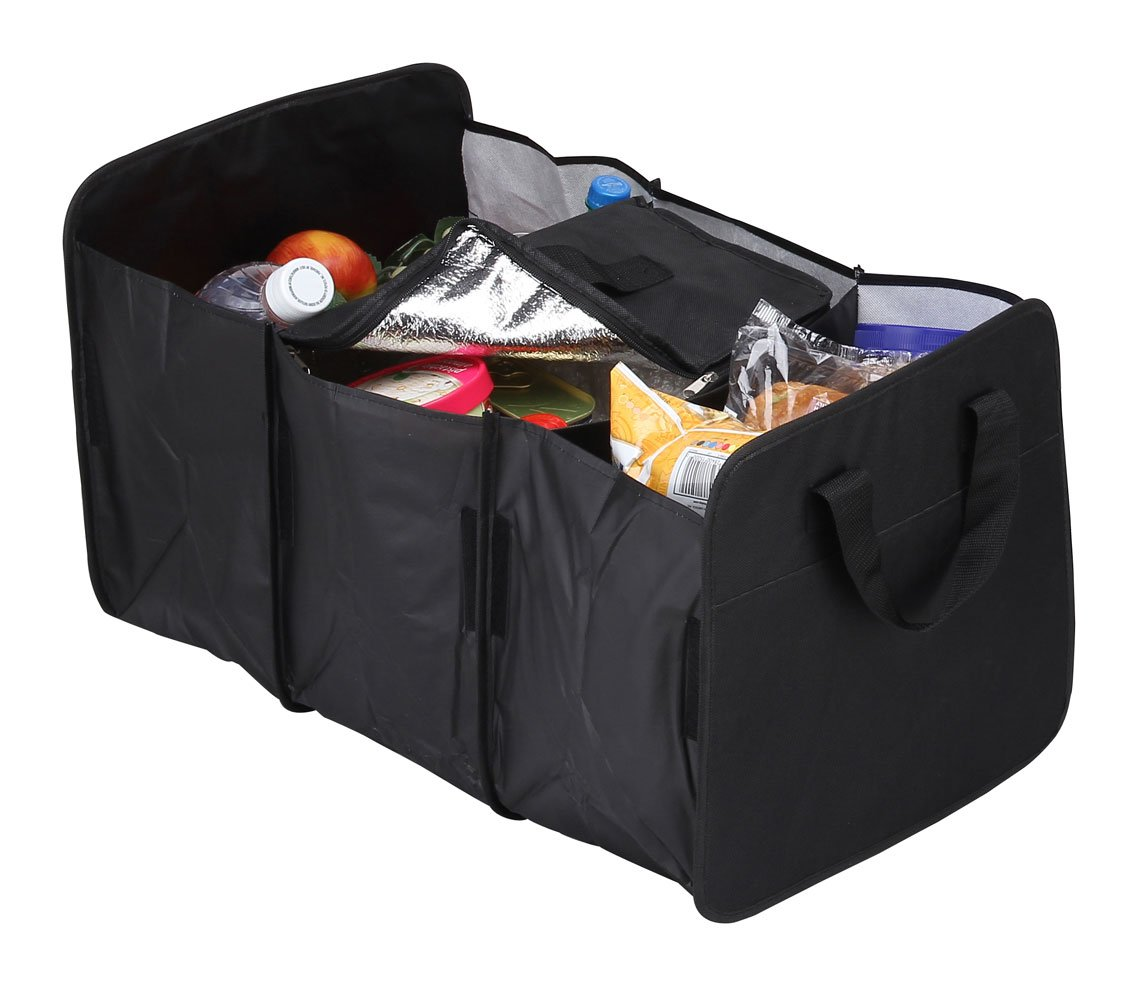 Travelwell Trunk Organizer with Cooler Black