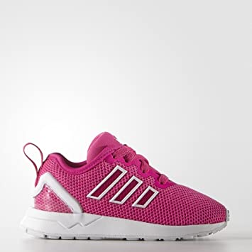 super popular be8ed a84c0 adidas - ZX Flux ADV Shoes - Shock Pink S16 - 3K: Amazon.co ...