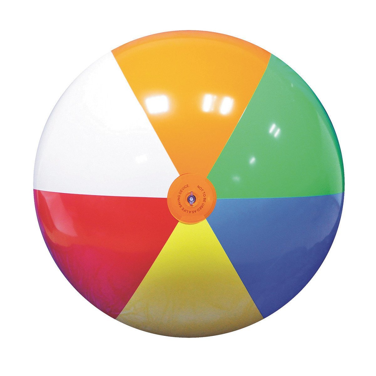 Jet Creations Giant Inflatable Beach Ball 66'' Inflated Size GBB08, Multicolor by Jet Creations