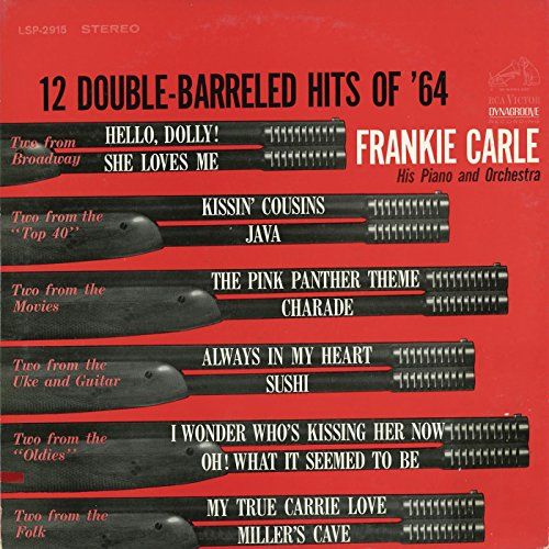 Frankie Carle And His Orchestra* Frankie Carle, His Piano & Orchestra - Frankie Carle Plays The Great Piano Hits