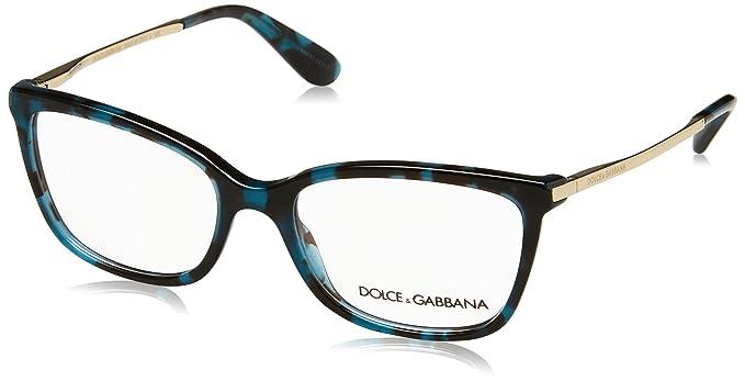 Amazon.com: Dolce&Gabbana DG3243 Eyeglass Frames 2887-52 - Cube ...