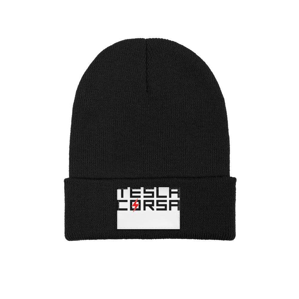 Multifunction Knit Cap coolgood Men Womens Beanie Hat Tesla-Logo