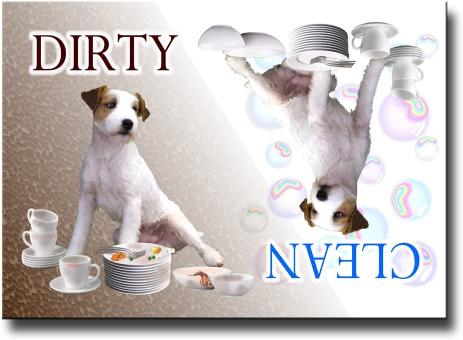 Jack Russell Terrier Dishwasher Magnet
