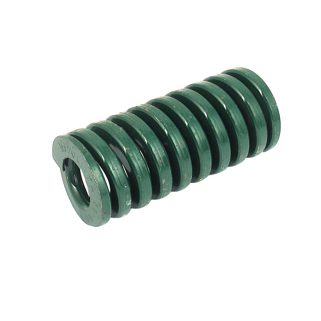 sourcingmap® Heavy Load Spiral Stamping Compression Die Spring 40mmx90mm Green a15102700ux0739