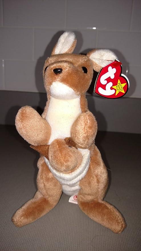 Ty Beanie Baby Pouch The Kangaroo 1996 Retired
