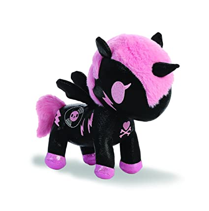 Aurora World 15681 Tokidoki Dj Sparkle Unicorn Plush Toy, 8-inch