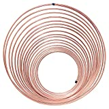 50 ft 3/16 in Copper-Nickel Coil Tubing - Brake, Fuel or Transmission Line - (Universal Size)