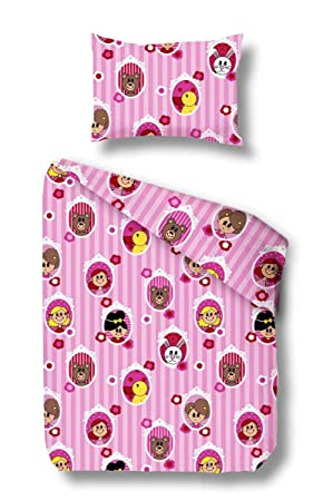 Kinder Biber Bettwäsche Rosario Baby Winterbettwäsche 100x135