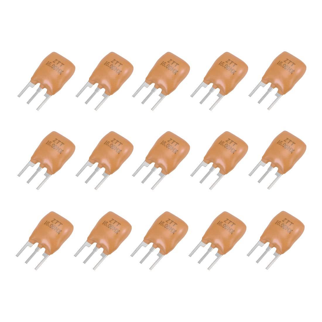 USA Seller Free Shipping 5 x 16.000 MHz CERAMIC RESONATOR 3-PINS ZTT Series