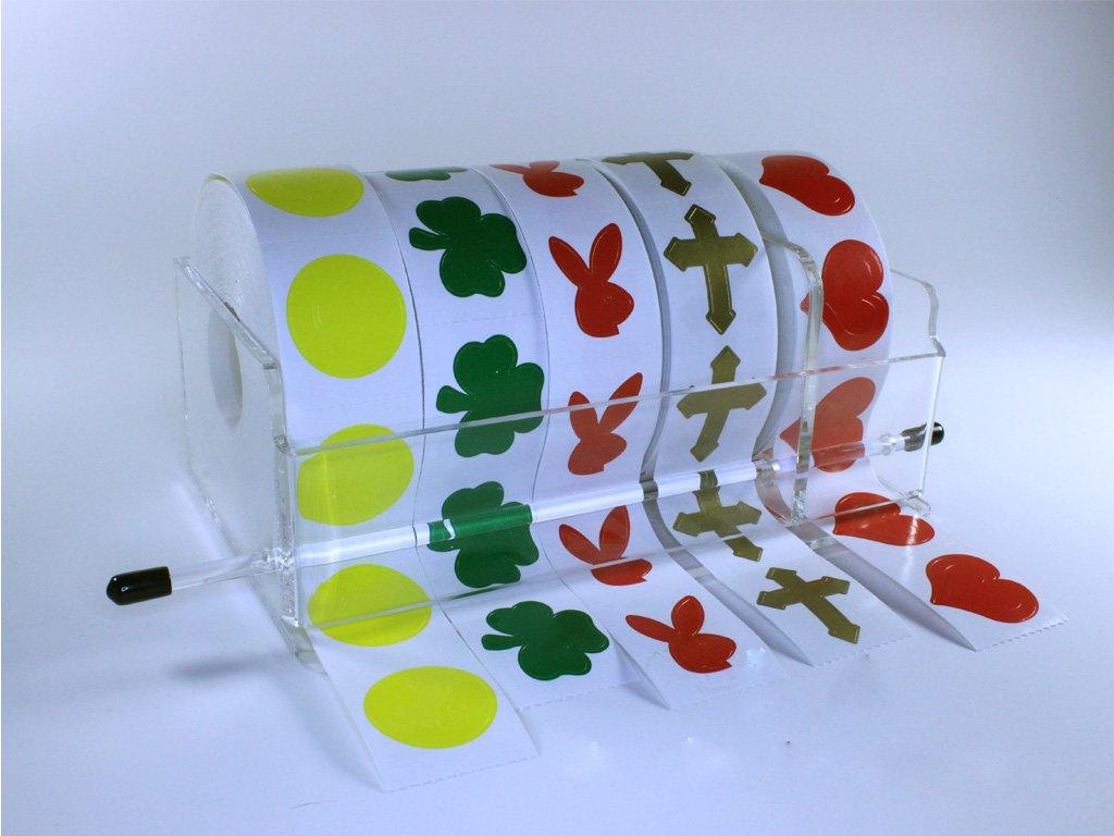 Amazon.com: Acrylic Tanning Sticker Dispenser Holds 5 Rolls (small ...