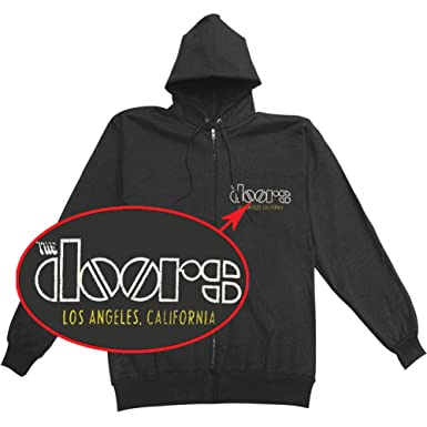 The Doors Venice 2-sided Zip Hoodie (Small)  sc 1 st  Amazon.com & Amazon.com: Bravado The Doors Venice Jim Morrison Logo Zipup Hoodie ...