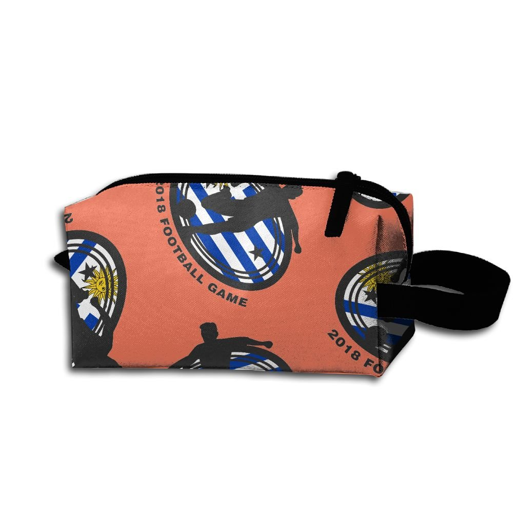 959fcd2766 outlet ORGANIZERS AADE 2018-football-game-Uruguay Printed Cosmetic Bags  Multifunction Handle Design