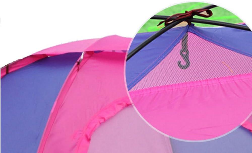 parasol acampada para senderismo viajes Dapengzhanchi Tienda de campa/ña resistente para 2 personas ultraligera doble protecci/ón contra la lluvia mosquitos para mochileros resistente al agua