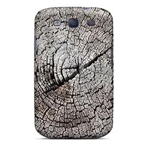 New Tpu Hard Case Premium Galaxy S3 Skin Case Cover(stump Rings)