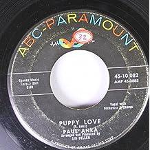 Paul Anka 45 RPM Puppy Love / Adam and Eve