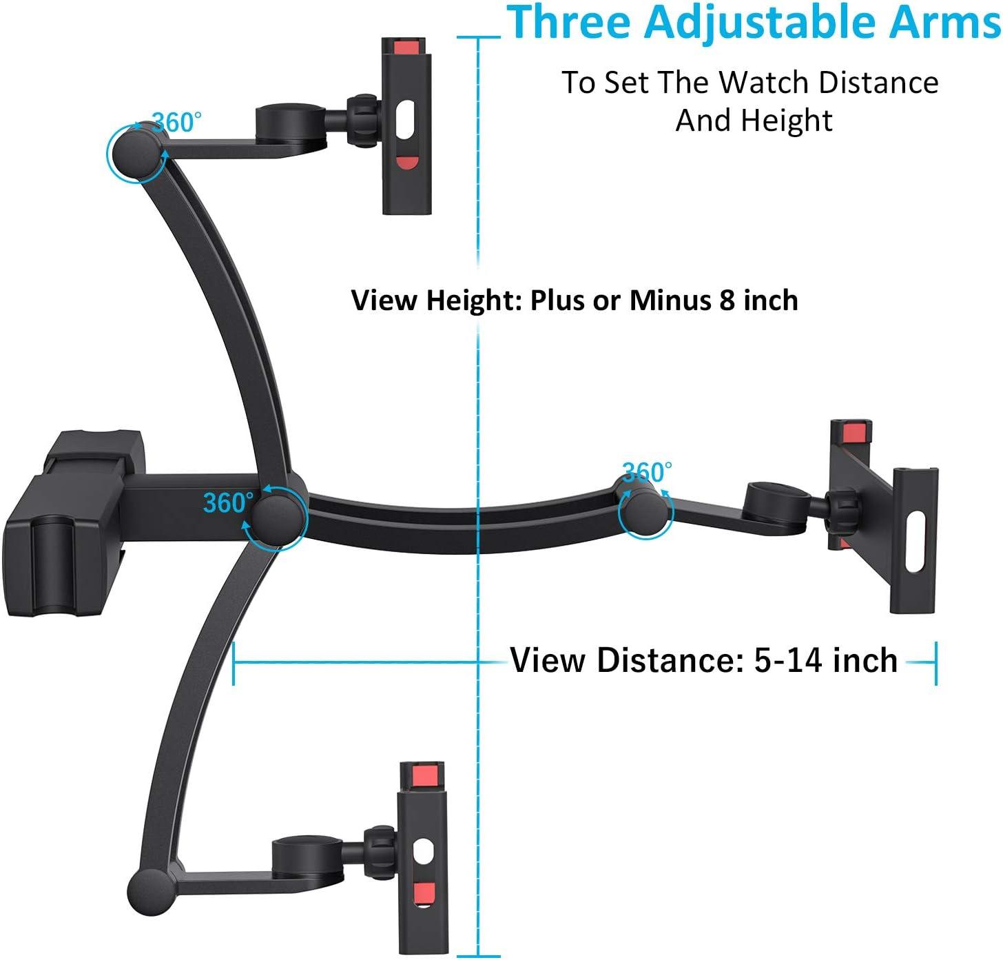compatibile con iPad Pro LIDIWEE telefono supporto per poggiatesta auto regolabile iPad Mini Samsung Tabs Kindle e altri dispositivi da 5 a 12,9 pollici girevole a 360/°