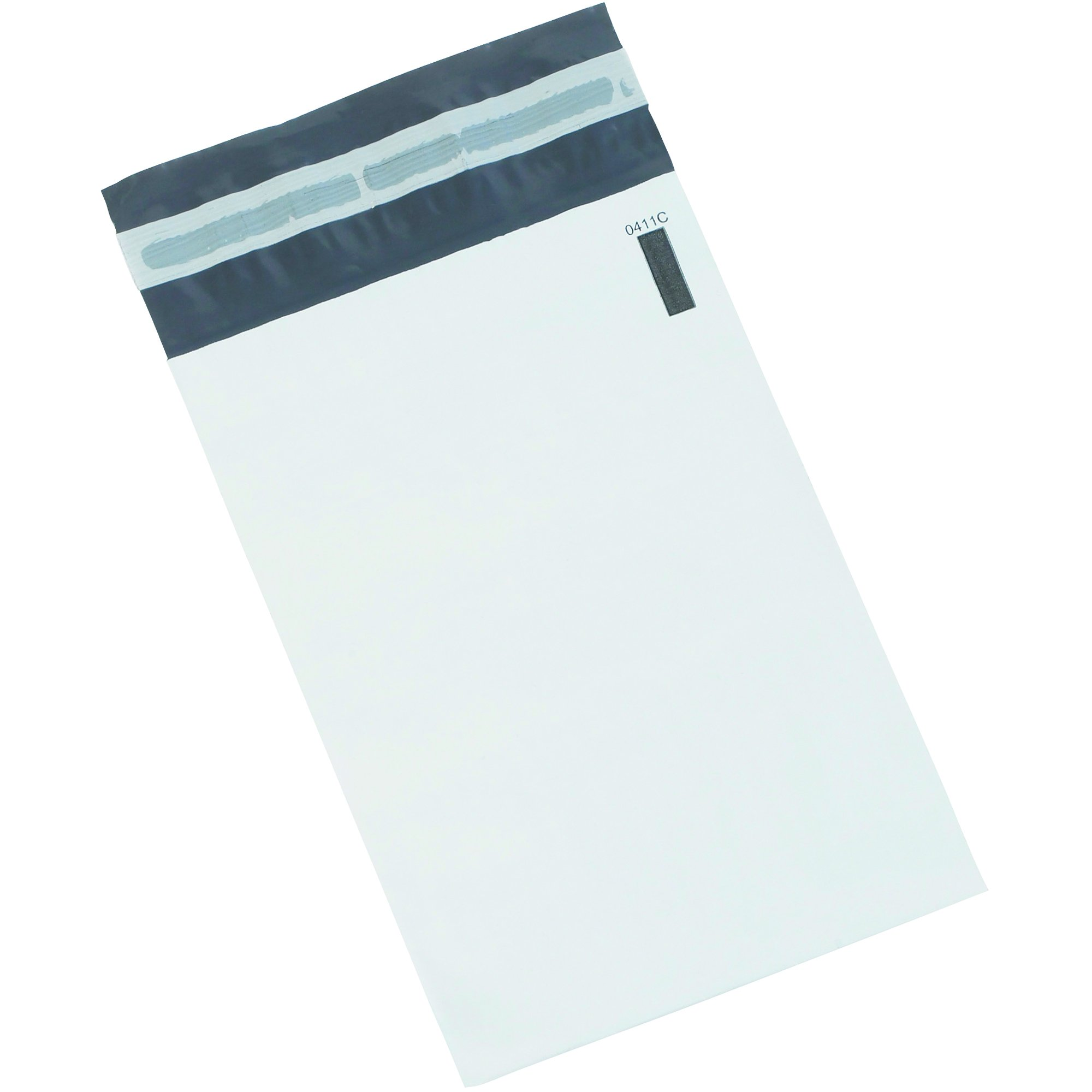BOX BB880100PK Poly Mailers, 24'' x 36'', White (Pack of 100)