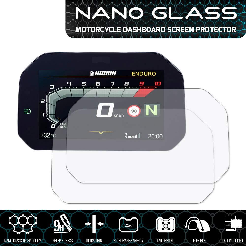 Speedo Angels Nano Glass protector de pantalla para R1200 GS CONNECTIVITY 2018+ x 2