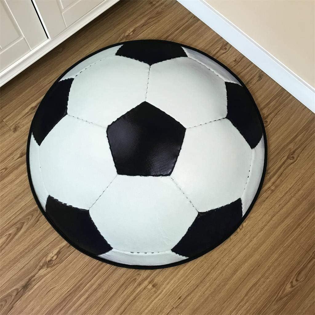 Alfombra decorativa para el suelo con diseño de balón de fútbol ...