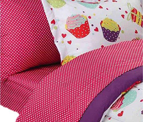 Mainstays Kids Cupcake Coordinated Bedding Set