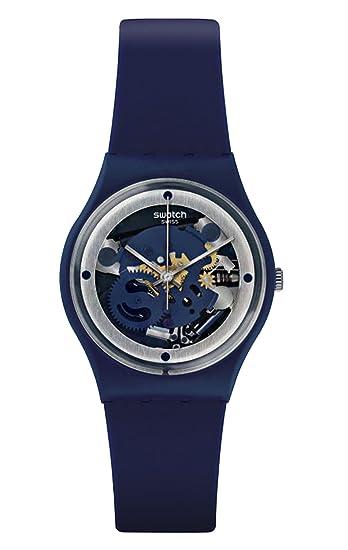 Reloj Swatch - GN245 - SQUELETTE BLUE