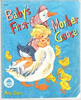 Babys First Real Cloth Mother Goose Book