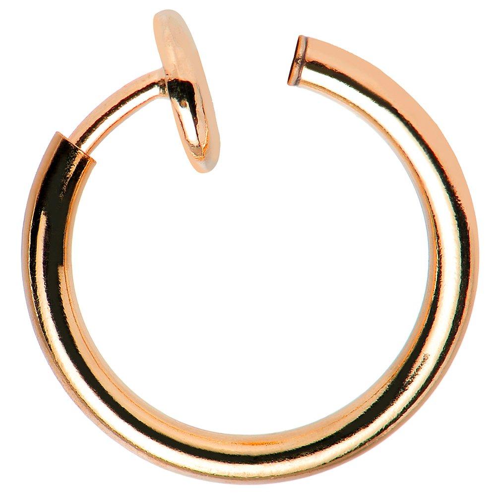 最高の non-piercing Hoops – Perfect for鼻 ローズゴールド、リップ B017MEVFFK、耳軟骨 Hoops – すべての年齢 One Size Fits Most B017MEVFFK ローズゴールド ローズゴールド, ファンシーステーションMay:8b0fb600 --- arianechie.dominiotemporario.com