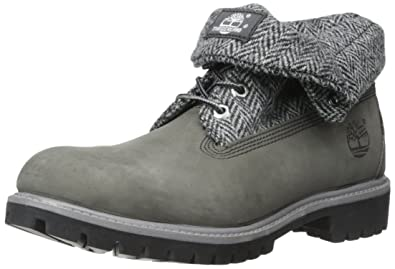 Timberland Mens Mens Roll Top AF Boots in Grey - UK 11  Amazon.co.uk ... 683c2f1dd51e