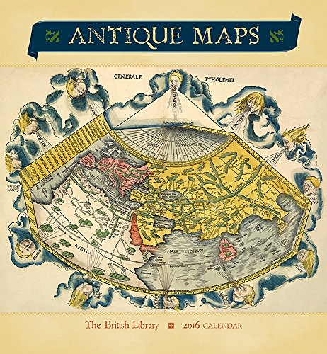 Antique Maps 2016 Wall Calendar