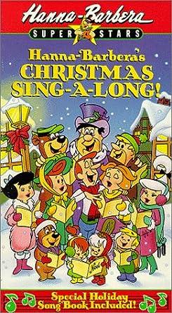 Hanna Barbera Christmas Dvd.Hanna Barbera Christmas Sing A Long Vhs Amazon Co Uk