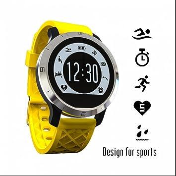 Reloj Inteligente con Pulsómetro Teléfonos Inteligentes Reloj Control Cámara/ Podómetro/ Monitor de Sueño/