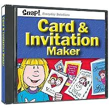 SNAP! Cards & Invitation Maker (Jewel Case)