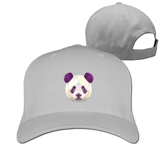 5ffe9e93dd888 Unisex LunaCpt Three Dimensional Cool Panda Bear Animals Gift Caps Ash One  Size