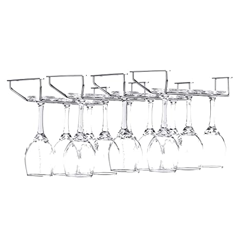 Amazon.com: FOMANSH - Estante para copas de vino, para ...