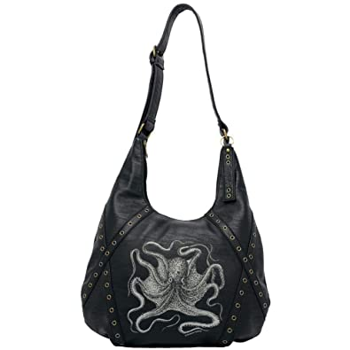 a9d20d4f52c1 Amazon.com  Sourpuss Octopus Hobo Purse  Shoes