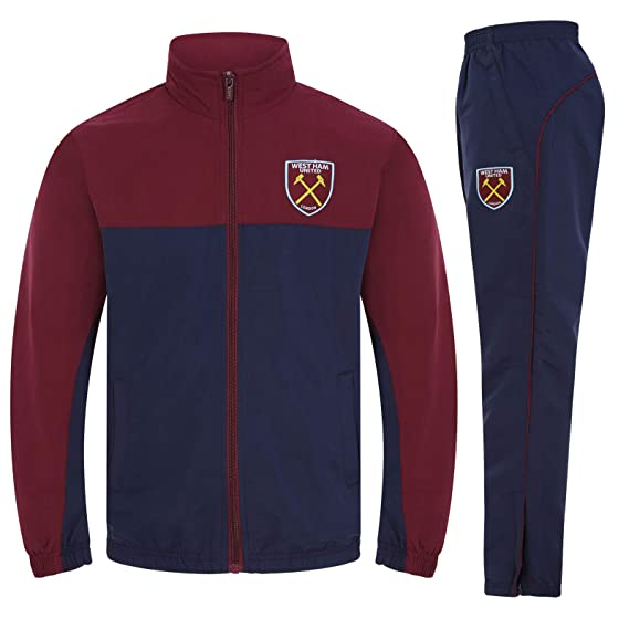 1f802cd887e West Ham United FC Official Gift Boys Jacket   Pants Tracksuit Set 2-3 Years