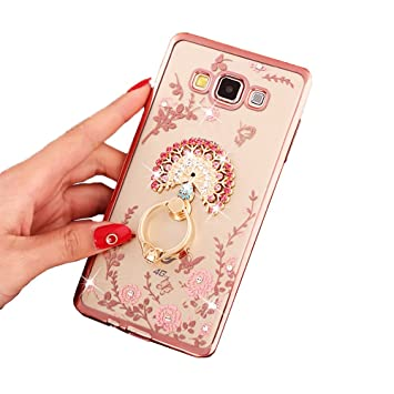 hot sales 18522 a4552 Samsung Galaxy J3 /Galaxy J3 (2016) Case, Happy360 Shockproof Transparent  Flowers Crystal Bumper Silicone TPU Gel Clear Bling Protective Rubber Soft  ...