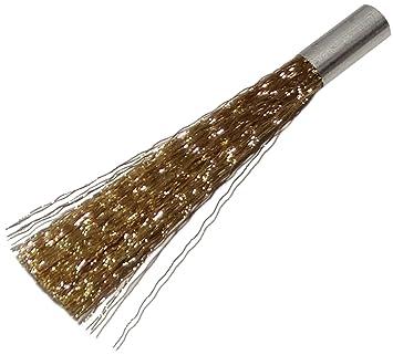 AERZETIX: 2 x Recambio para cepillo C13864 pincel en latón limpieza antes de soldadura micro-limpieza: Amazon.es: Bricolaje y herramientas