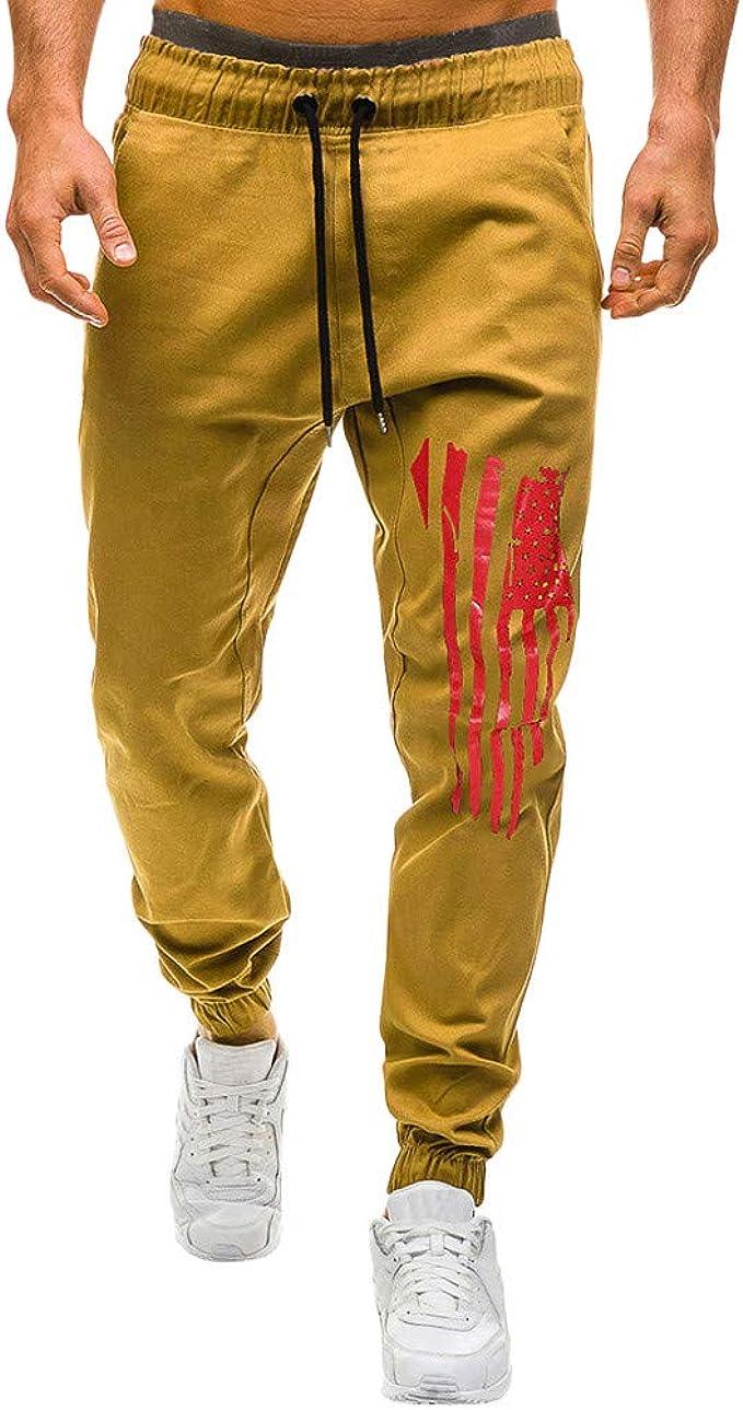 Sylar Pantalones Hombre Casuales Deporte Pantalones Largos para ...