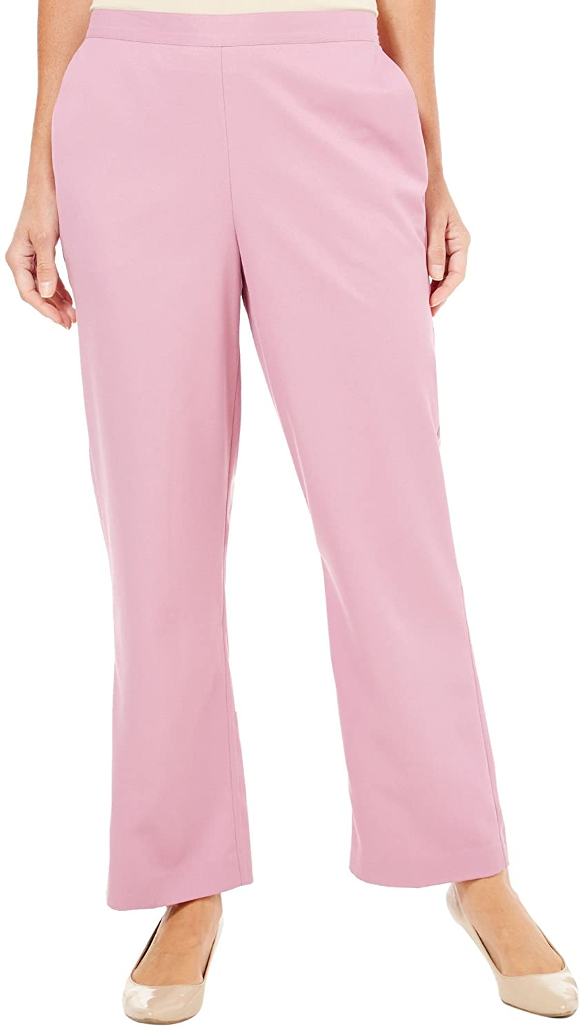Alfred Dunner Women's Glacier Lake Flat Front Pants supplier